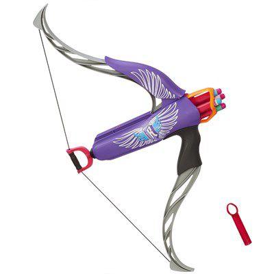 Lançador de Dardos Nerf Rebelle Strongheart Purple - Hasbro