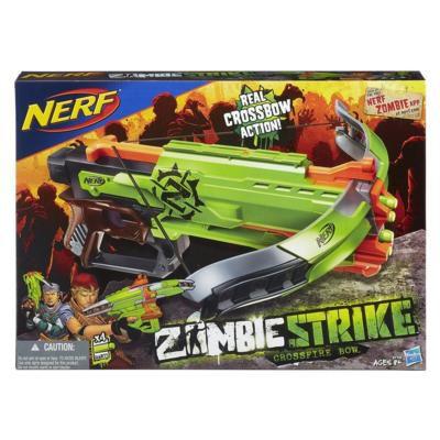 Lançador de Dardos Nerf Zombie Strike Crossfire - Hasbro