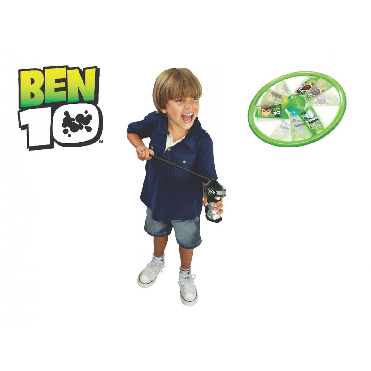 Lançador Fly Ten Ben 10 - Lider Brinquedos