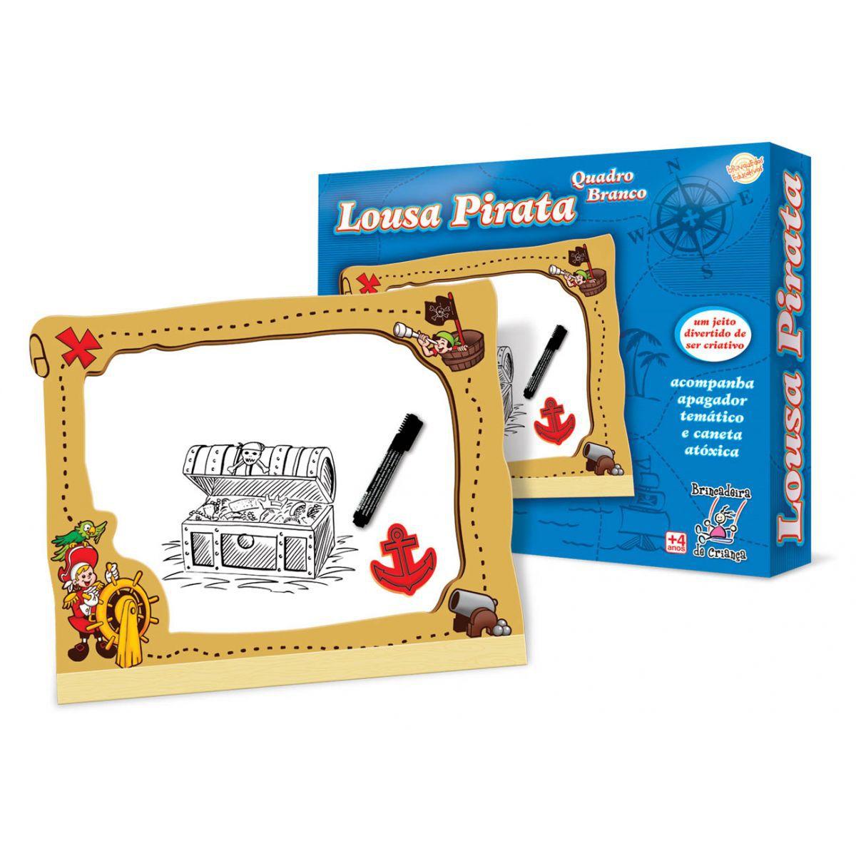 Lousa Pirata - Brincadeira de Criança