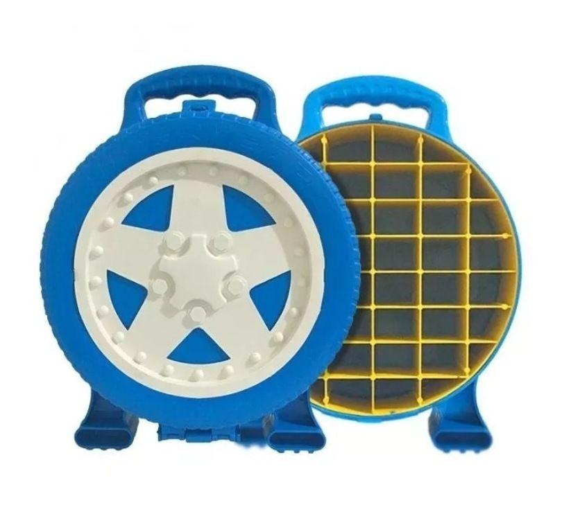 Maleta Super Garage para 36 Carrinhos - Lugo Brinquedos