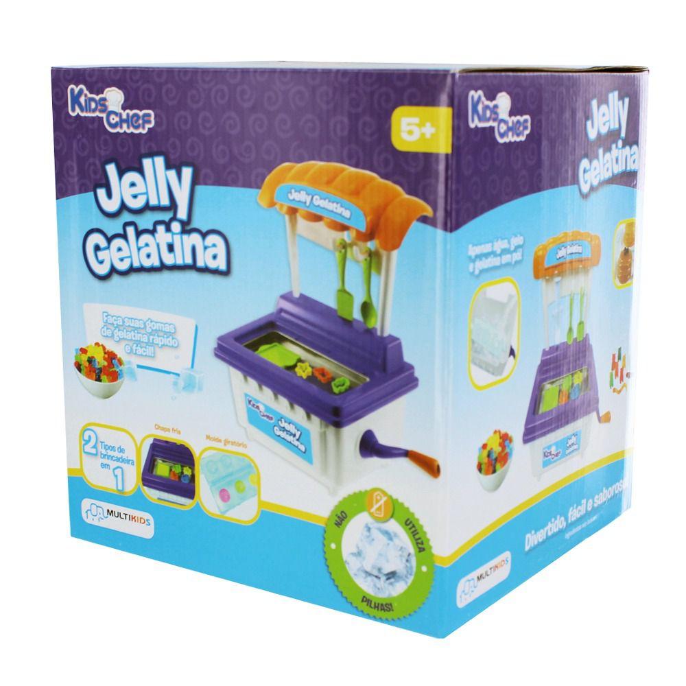 Máquina de Gelatina Jelly Gelatina Kids Chef - Multikids
