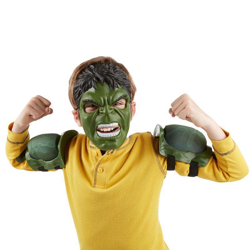 Máscara e Músculos Avengers Age Of Ultron Hulk - Hasbro