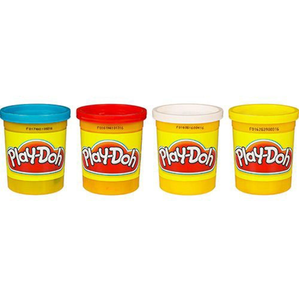 Massinha Play-Doh 4 Potes - Hasbro