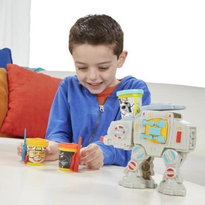Massinha Play Doh Can Heads Star Wars Ataque do AT-AT - Hasbro