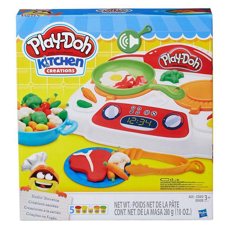 Massinha Play-Doh Criações no Fogão - Hasbro