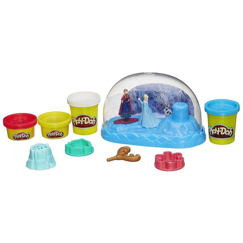 Massinha Play-Doh Disney Frozen Globo com Mini Bonecas - Hasbro