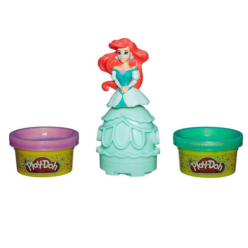 Massinha Play-Doh Estampa Princesas Ariel - Hasbro