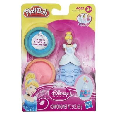 Massinha Play-Doh Estampa Princesas Cinderela - Hasbro