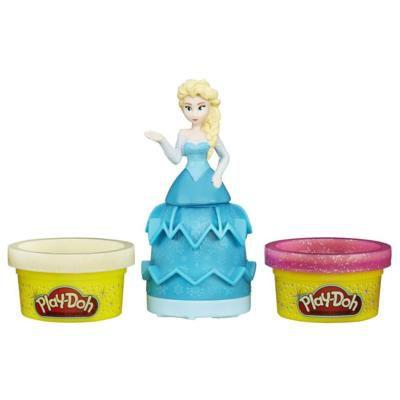 Massinha Play-Doh Estampa Princesas Frozen Elza - Hasbro