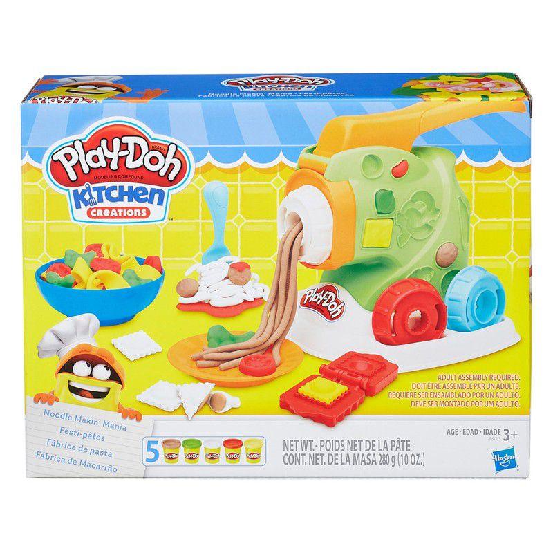 Massinha Play-Doh Kitchen Creations Fábrica de Macarrão - Hasbro