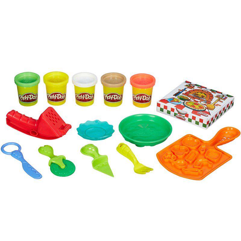 Massinha Play-Doh Kitchen Creations Festa da Pizza - Hasbro