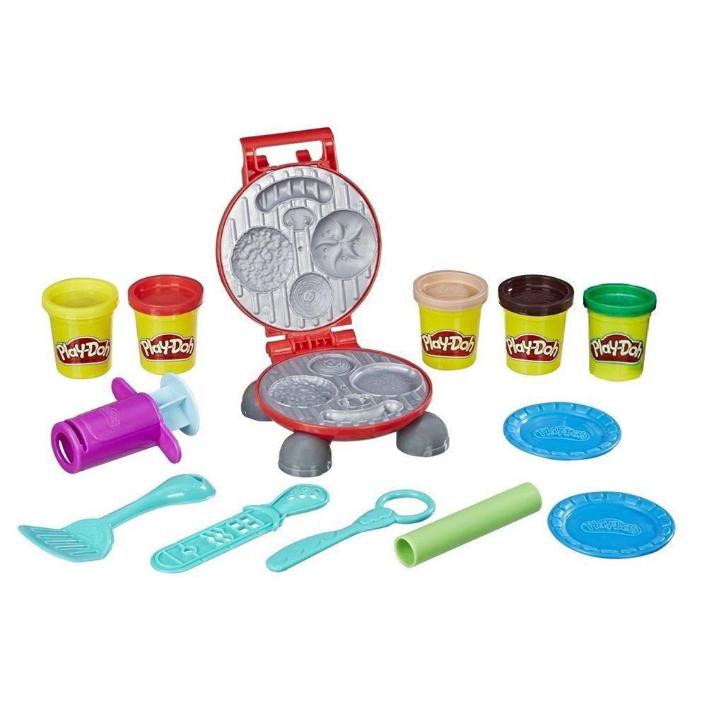 Massinha Play-Doh Kitchen Creations Festa do Hambúrguer - Hasbro