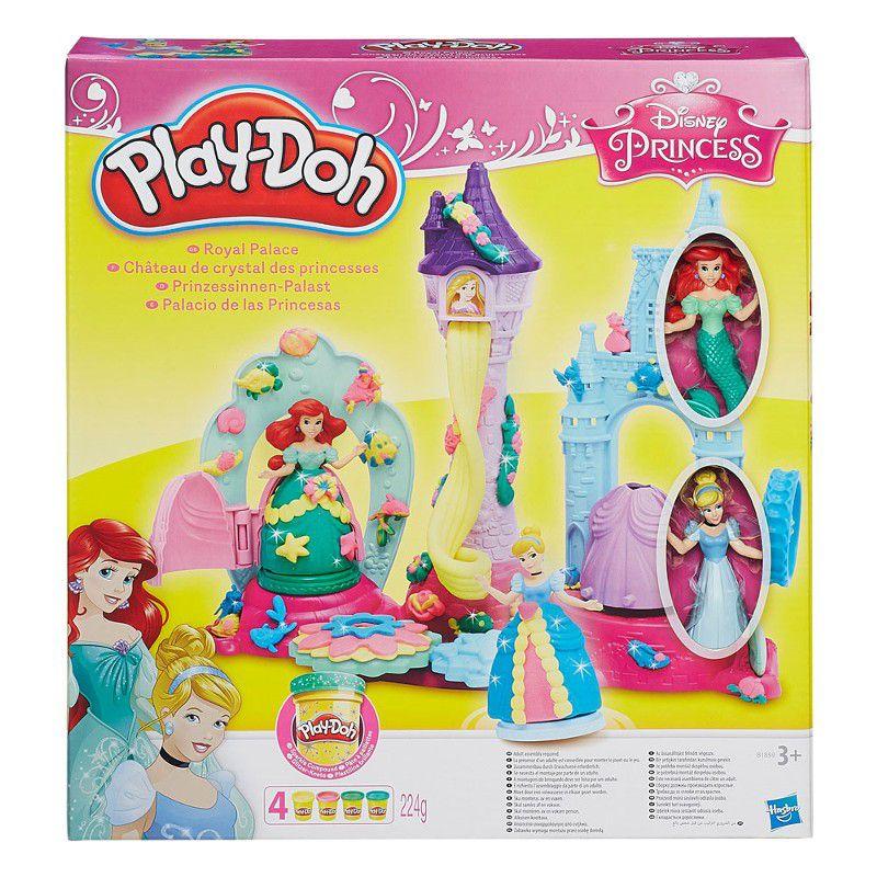 Massinha Play-Doh Palácio Real Princesas Disney - Hasbro