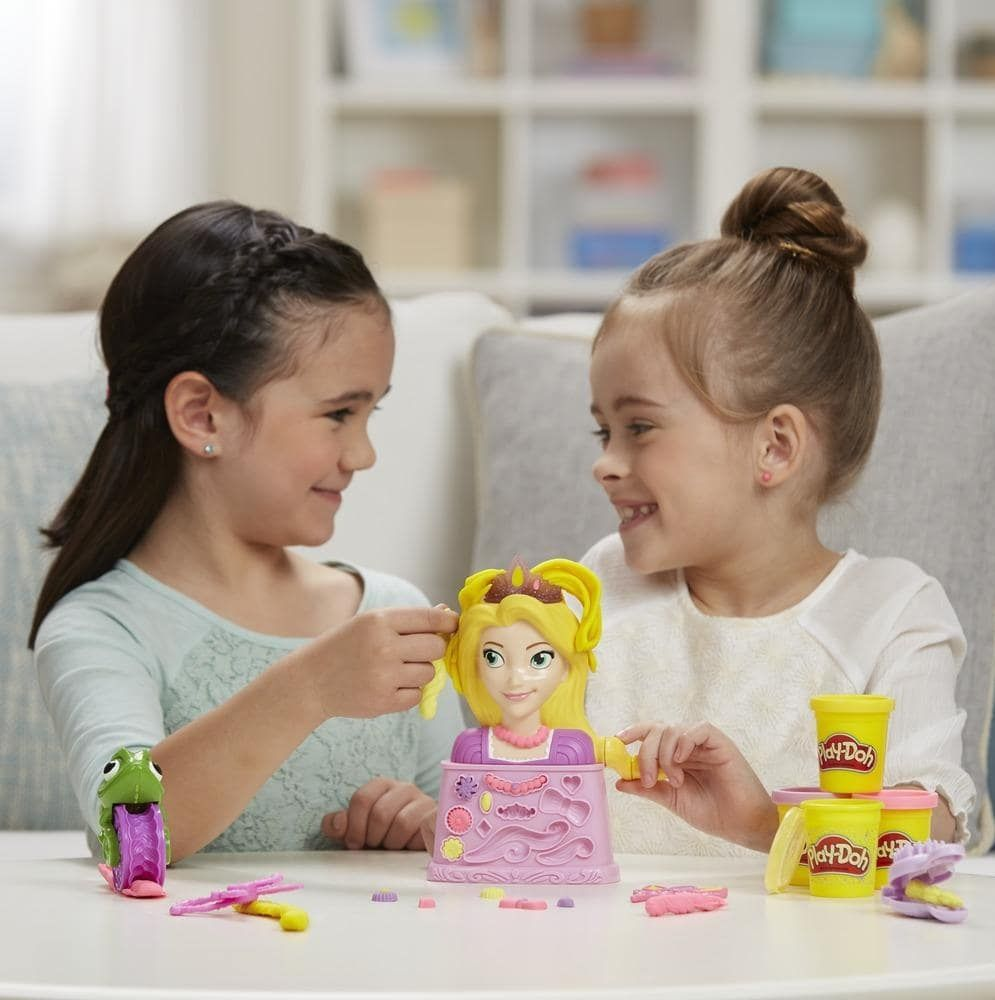 Massinha Play-Doh Rapunzel Salão de Beleza Disney Princess - Hasbro