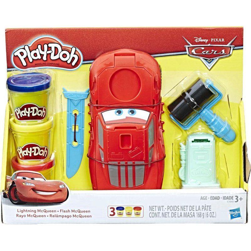 Massinha Play-Doh Disney Pixar Carros Relâmpago McQueen - Hasbro