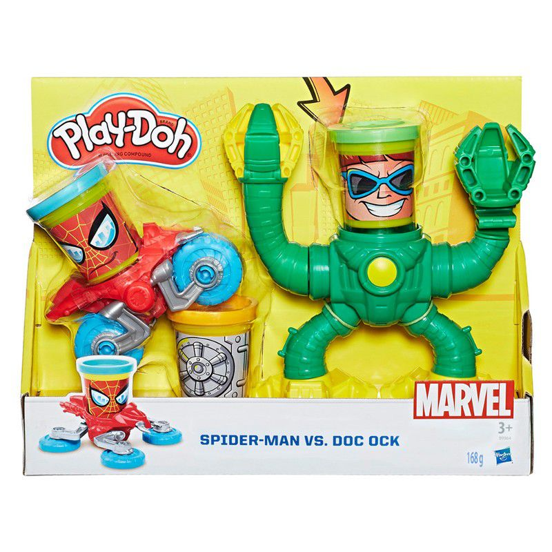 Massinha Play-Doh Spider-Man VS. Doc Ock - Hasbro