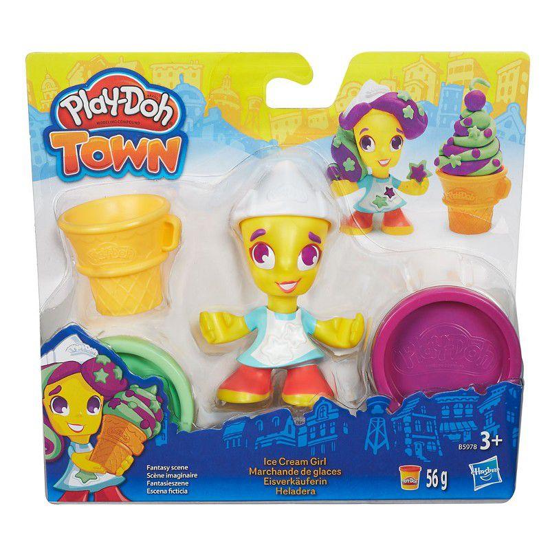 Massinha Play-Doh Town Pequena Sorveteria - Hasbro