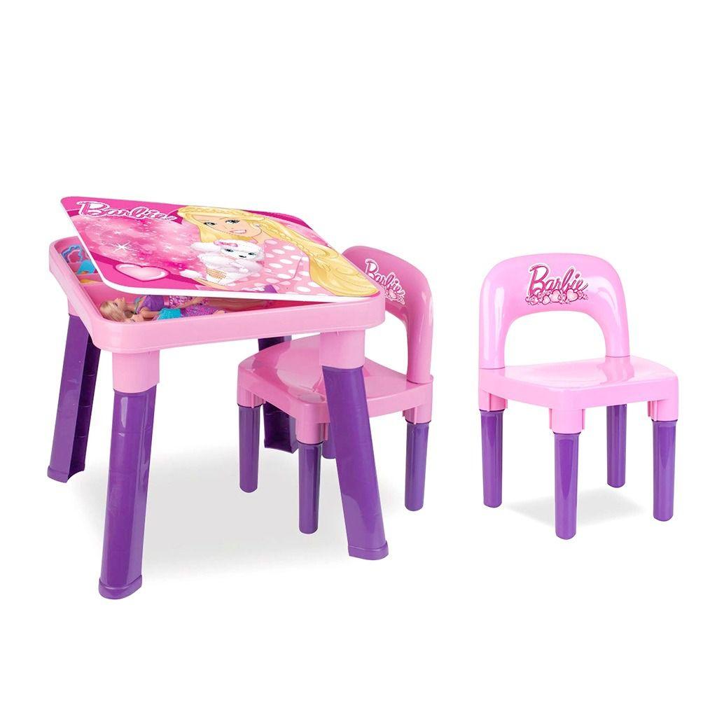 Mesa Barbie com Cadeira - FUN