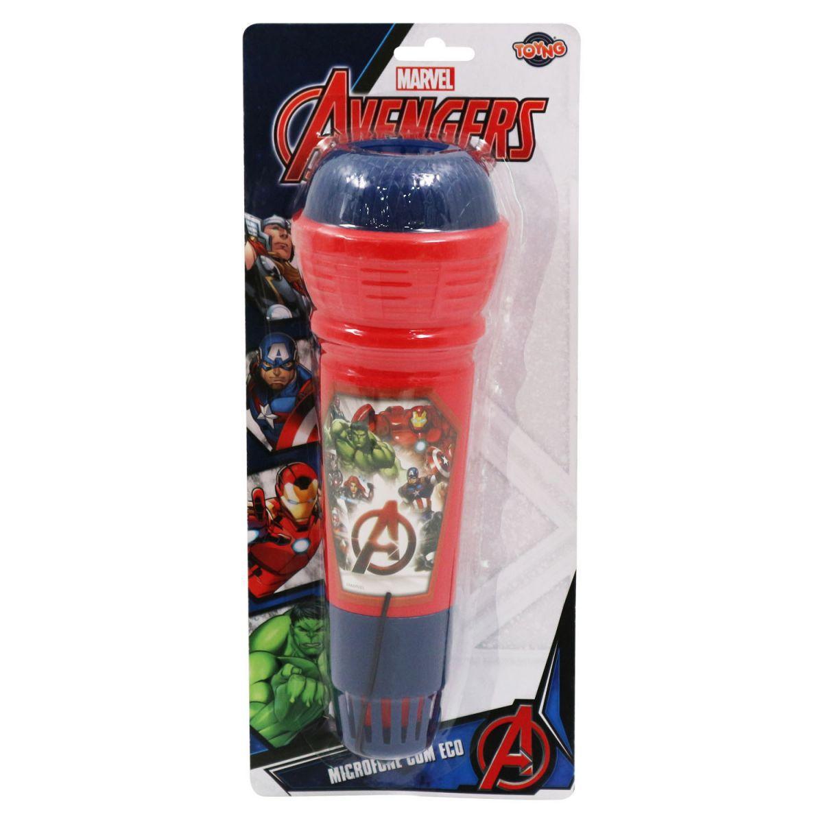 Microfone Avengers com Eco - Toyng
