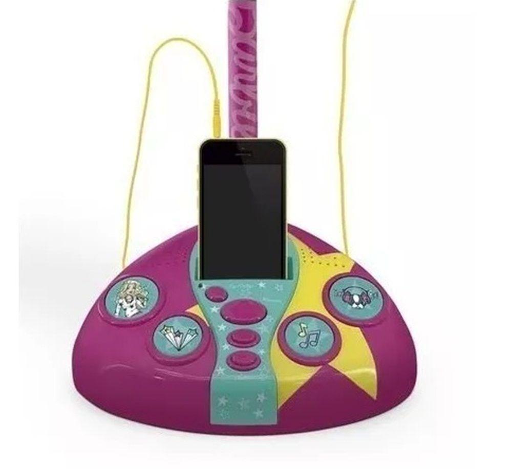 Microfone Fabuloso Barbie - FUN