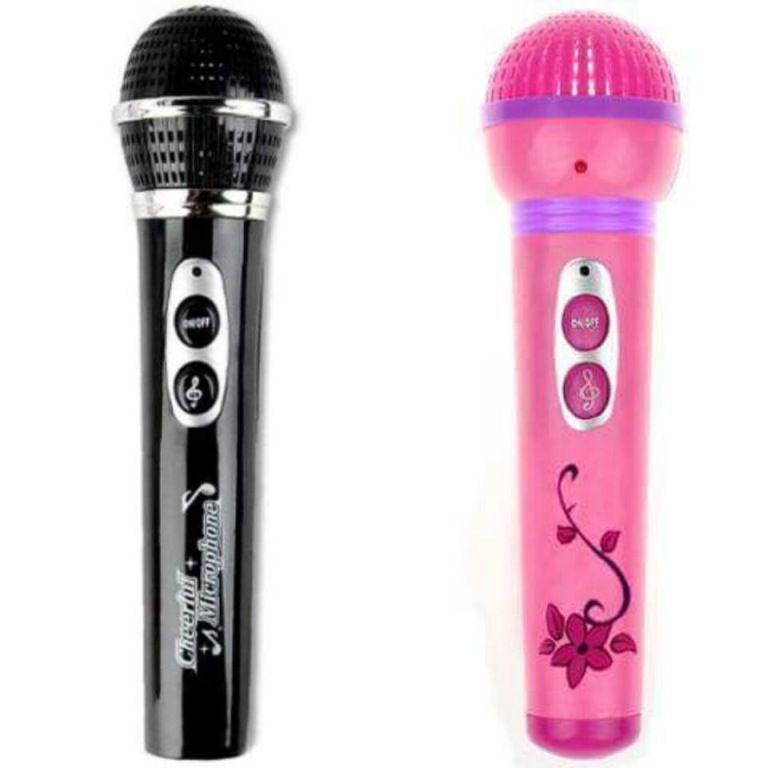 Microfone 12 Melodias - Fenix Brinquedos