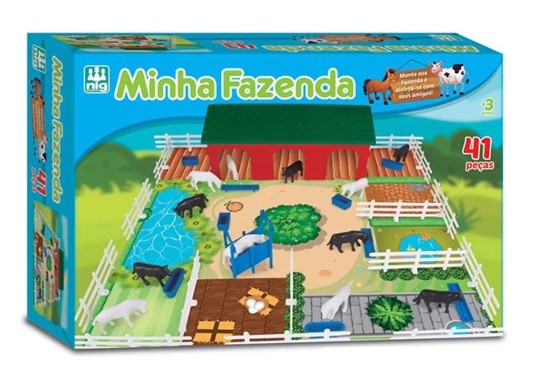 Minha Fazenda 41 Peças - Nig Brinquedos