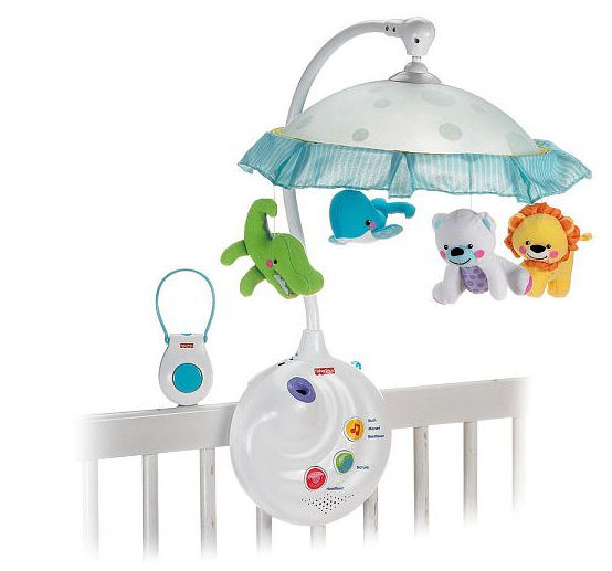 Mobile Precious Planet 2 em 1 com Projetor - Fisher Price