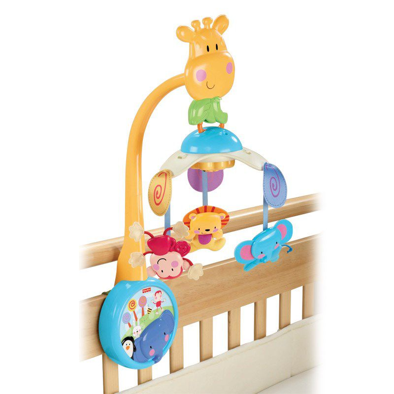 Móbile Zoo Musical 2 em 1 - Fisher-Price