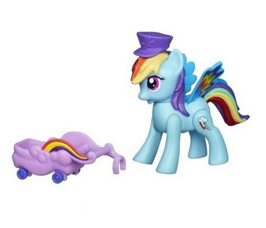 My Little Pony Rainbow Power Dash com Carrinho - Hasbro