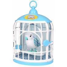 Pássaro e Gaiola Little Live Pets Pia e Fala Cristal - DTC