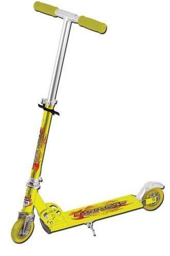 Patinete Turbo Racing Colorido Amarelo - Lotus