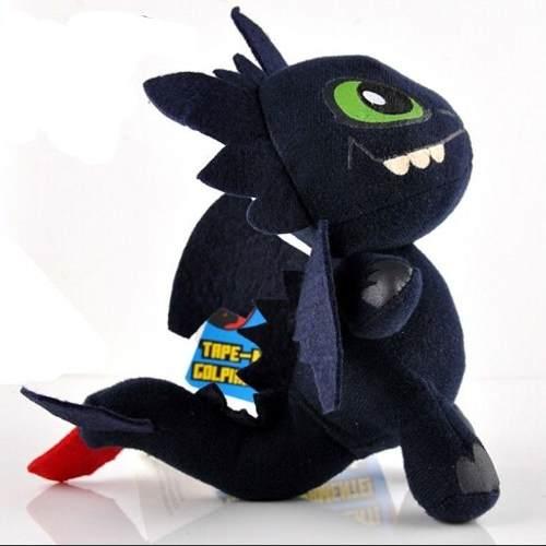 Pelúcia Como Treinar Seu Dragão Toothless - Sunny