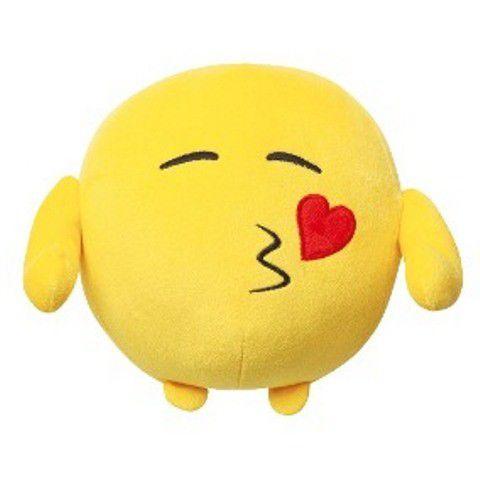 Pelúcia Emoji Beijo - Multikids