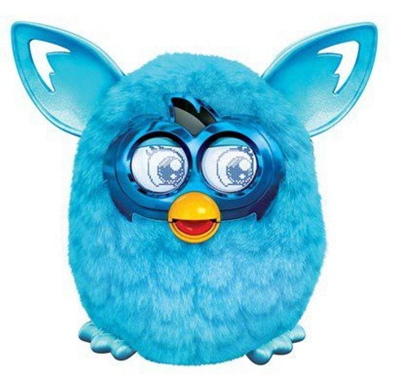 Pelúcia Furby Boom Azul Favorito Edição Especial - Hasbro
