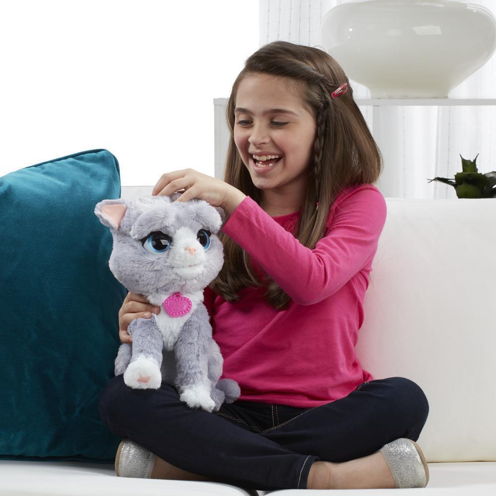 Pelúcia Interativa Fur Real Friends Gatinha Bootsie - Hasbro