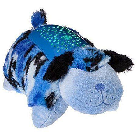 Pillow Pets Dream Lites Blue Camo Puppy Projetor Cachorro Azul - DTC