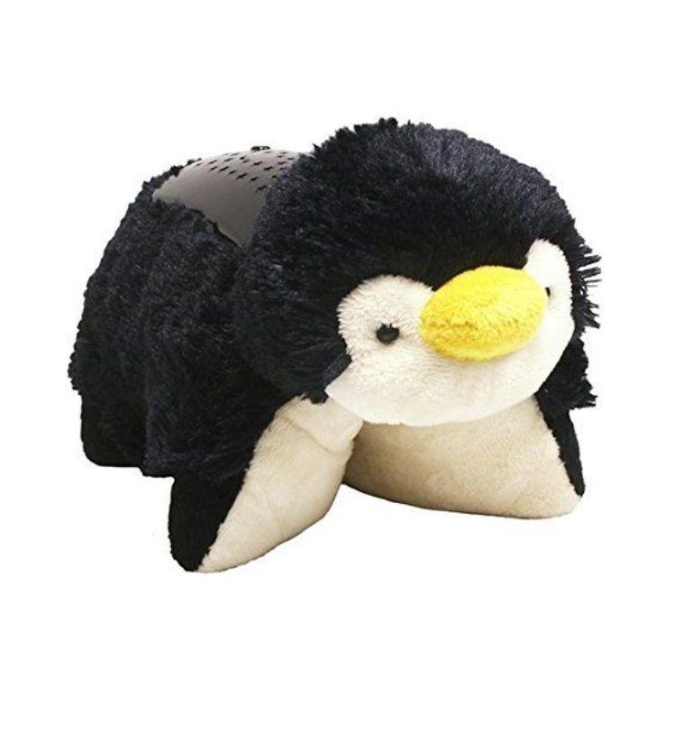 Pillow Pets Dream Lites Playful Penguin Projetor Pinguim - DTC