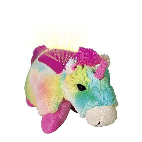 Pillow Pets Dream Lites Rainbow Unicorn Projetor Unicórnio - DTC