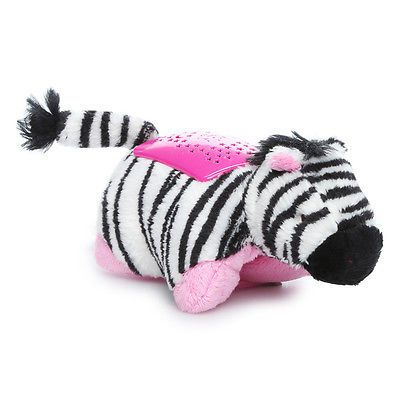 Pillow Pets Dream Lites Zippity Zebra Projetor Zebra - DTC
