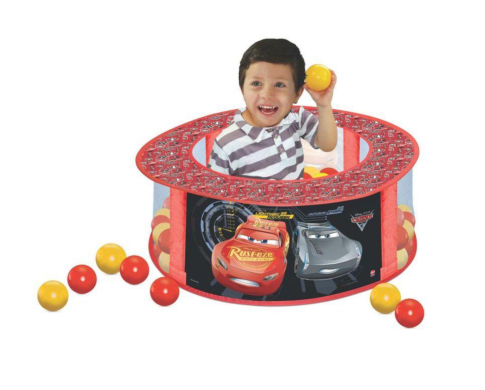 Piscina de Bolinhas Disney Carros 3 com 100 Bolinhas - Lider Brinquedos