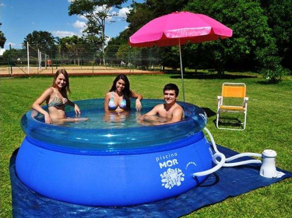 Piscina Inflável Splash Fun 2400 Litros - MOR