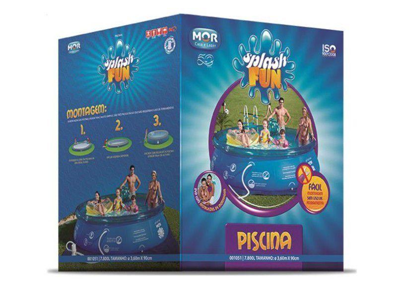 Piscina Inflável Splash Fun 7.800 Litros - MOR