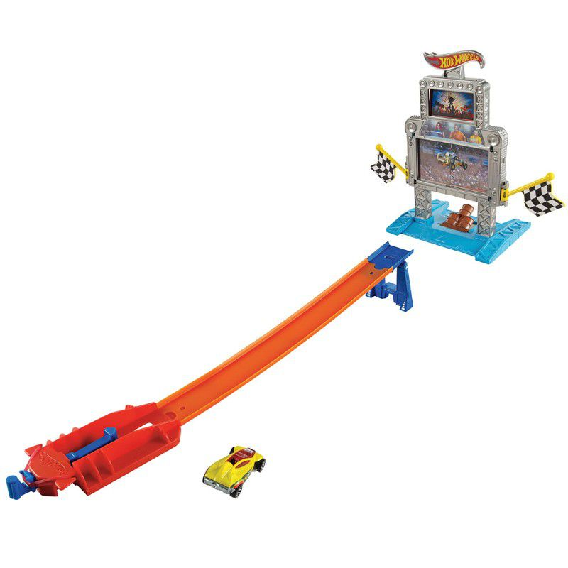 Pista Hot Wheels - Ataque Zumbi/ Triplo Alvo - Mattel