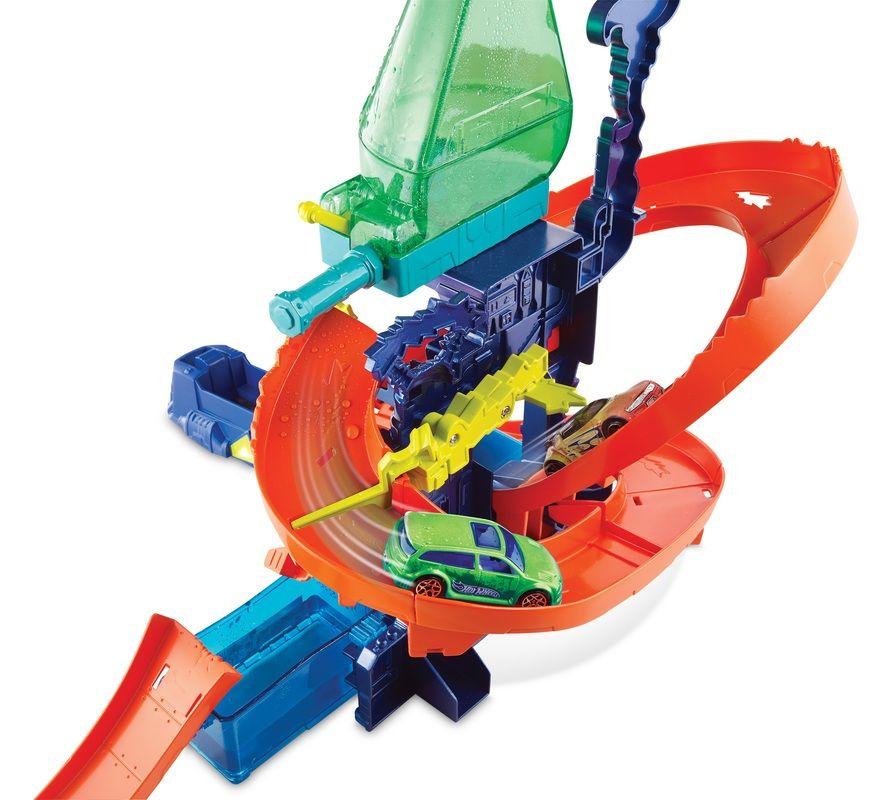 Pista Hot Wheels Color Shifters Color Splash Estação Científica - Mattel