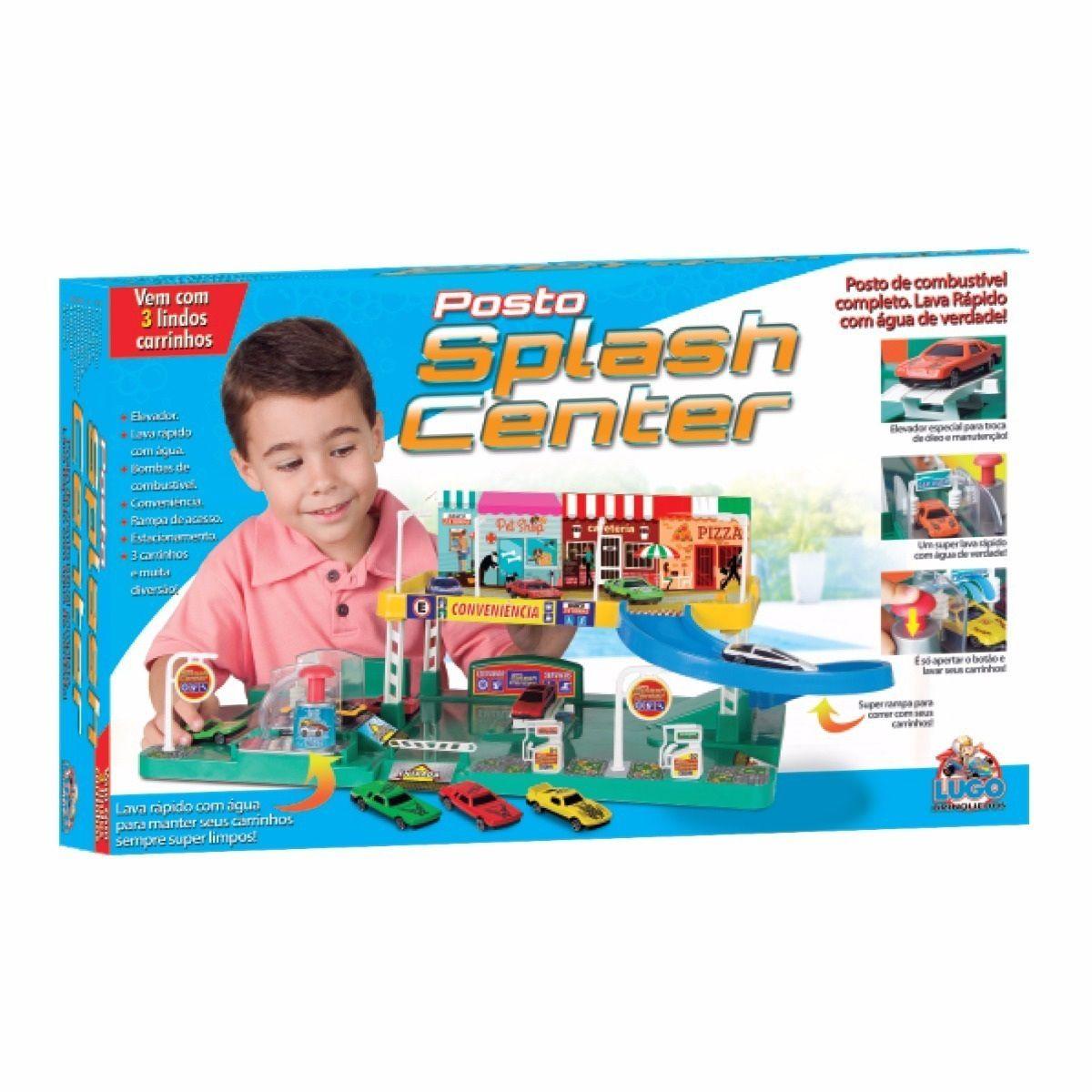 Posto Splash Center - Lugo Brinquedos