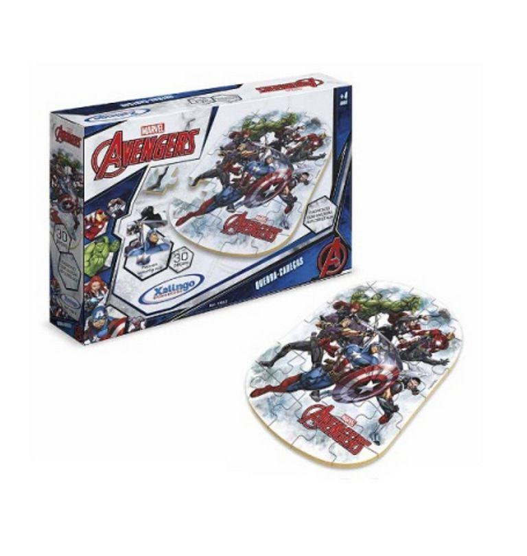 Quebra-cabeça Avengers 30 Peças - Xalingo