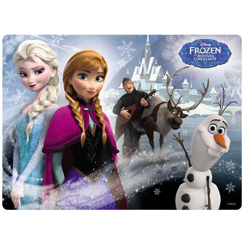 Quebra-cabeça Frozen Disney Puzzle com 60 Peças - Grow