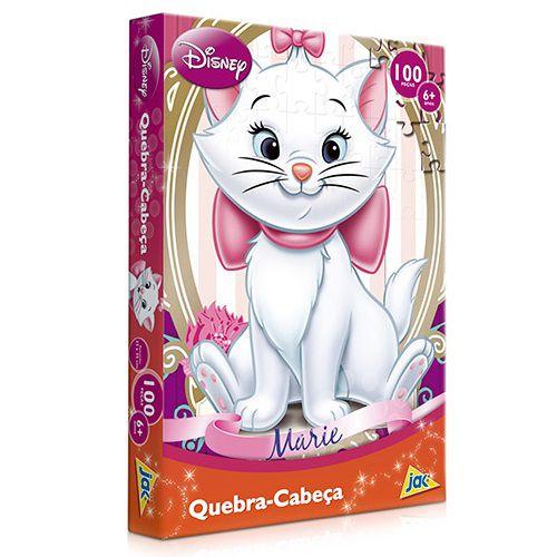 Quebra-Cabeça Gata Marie 100 Peças - Toyster