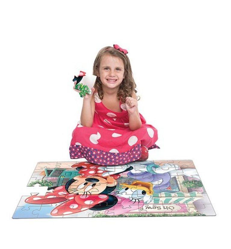 Quebra-cabeça Grandão Minnie 48 Peças - Jak
